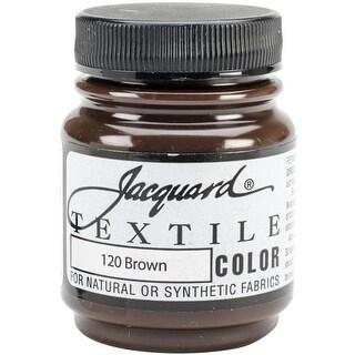 2.25 oz Textile Color Fabric Paint, Brown