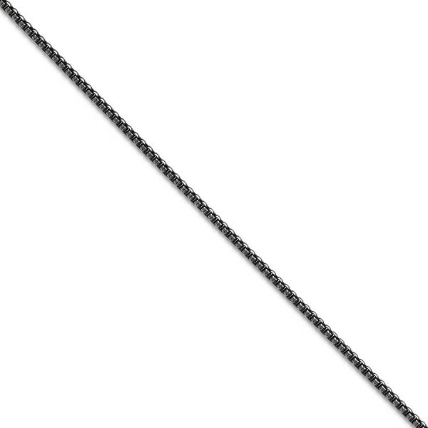 Chisel Stainless Steel 2.25mm Antiqued Chain (2.3 mm) - 18 in