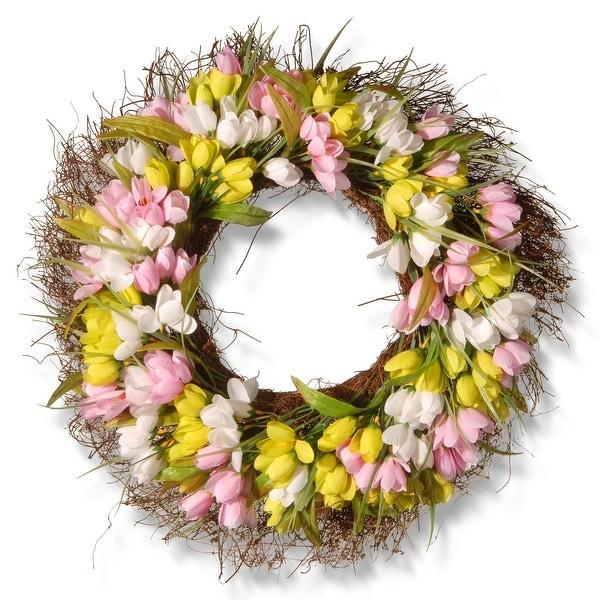 "21"" Tulip Wreath - N/A"