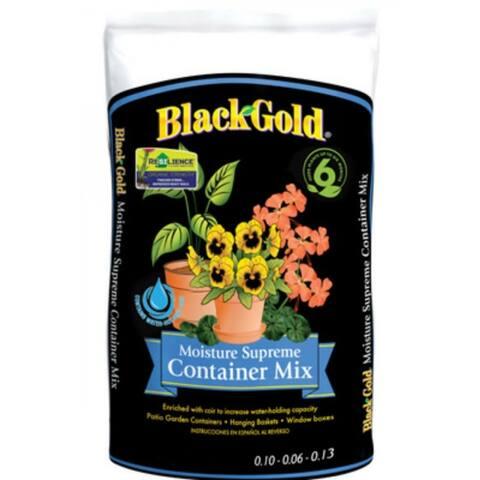 Black Gold 1413000.Q08P Moisture Supreme Container Mix, 8 Qt