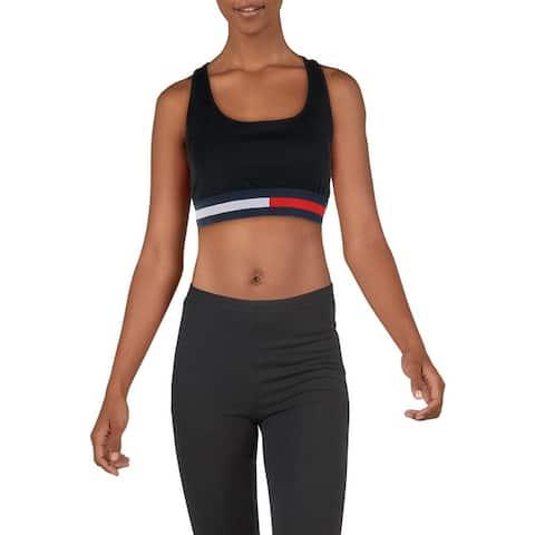 Tommy Hilfiger Womens Sports Bra Fitness Running