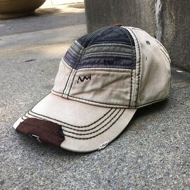 Vintage Chevron Baseball Cap (Option: Khaki)