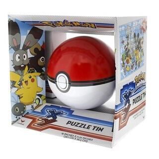 Pokemon Pokeball 100-Piece Sphere Puzzle Tin