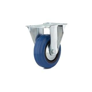 Richelieu F08334 155 lb. Maximum Weight Capacity Commercial Grade Fixed Mount Caster - Blue