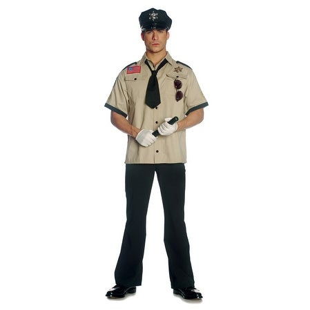 Seven til Midnight Sheriff Adult Costume - Solid