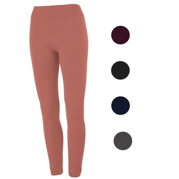 7651a4d9a Shop True Rock Women s Fleece Lined Leggings - One Size - Free Shipping On  Orders Over  45 - Overstock - 24257560
