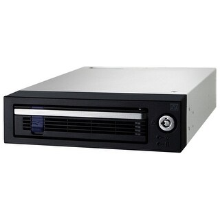 "Icy Dock Datacage Basic 3.5"" Sata Hard Drive Hot-Swap Mobile Rack For 5.25"" Drive Bay (Mb876sk-B)"