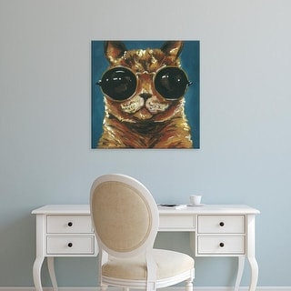 Easy Art Prints Jennifer Rutledge's 'Dapper Animal I' Premium Canvas Art