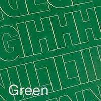 "Permanent Adhesive Vinyl Letters & Numbers 2"" 167/Pkg-Green"