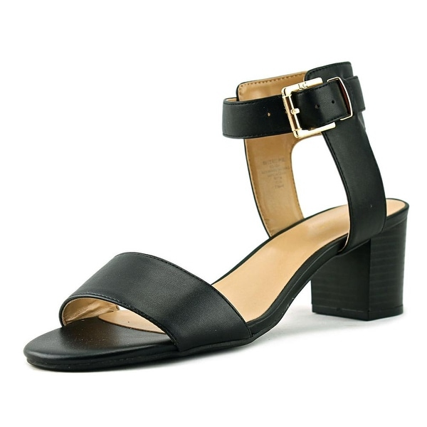 864ef1d8424 Shop Liz Claiborne Eclipse Women Black Sandals - Free Shipping On ...