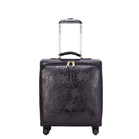 Mellow World Risa 16 inch Carry-On Rolling Suitcase Luggage