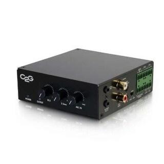 C2g 40880 8 Ohm 50W Audio Amplifier Plenum Rated Black