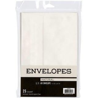 """Leader A9 Envelopes (5.75""""X8.75"""") 25/Pkg-Natural"""