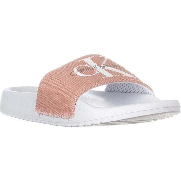 Calvin Klein Flip Flops White