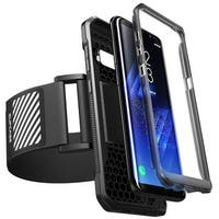 Galaxy S8+ Plus Armband, SUPCASE, Sport Running Armband Flexible Case Combo for Samsung Galaxy S8+ Plus-Black