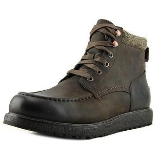 Ugg Australia Merrick Men Round Toe Leather Brown Boot