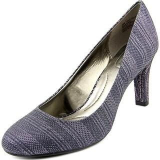 Bandolino Lantana   Round Toe Canvas  Heels