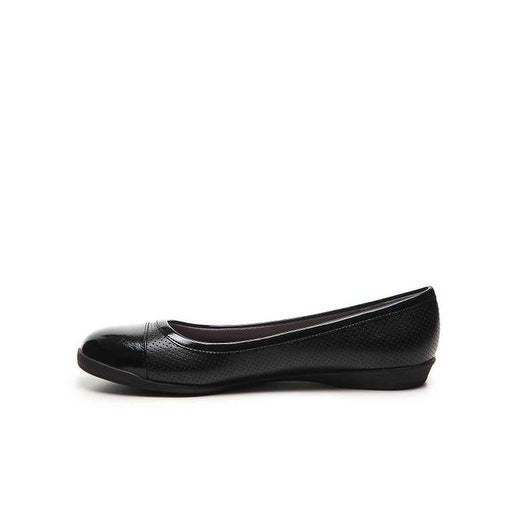 LifeStride Womens gifted 2 Cap Toe Mules, Black, Size 8.0