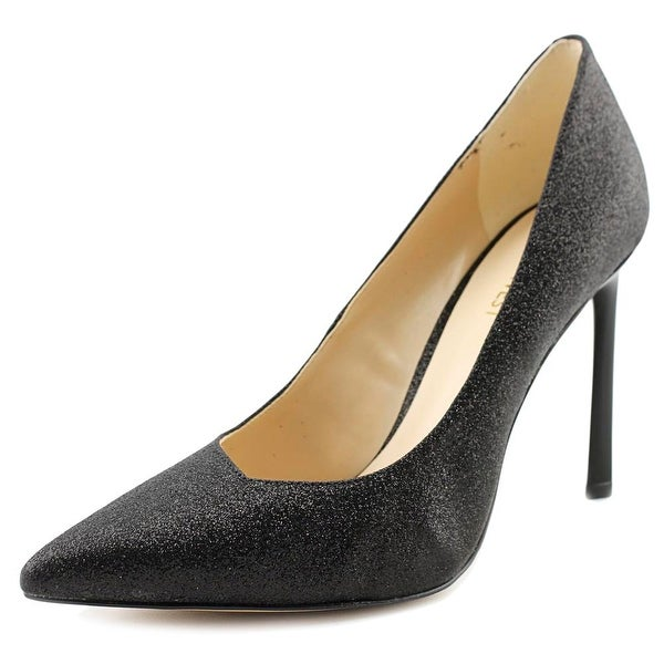 Nine West Kaylee Women Pointed Toe Synthetic Black Heels