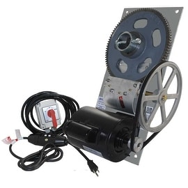 BH65 6500 lb Capacity Deluxe Boat Lift Hoist w/ Spring Switch & 110 V GFCI