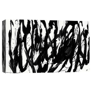 """PTM Images 9-102144  PTM Canvas Collection 8"""" x 10"""" - """"Marked 4"""" Giclee Abstract Art Print on Canvas"""