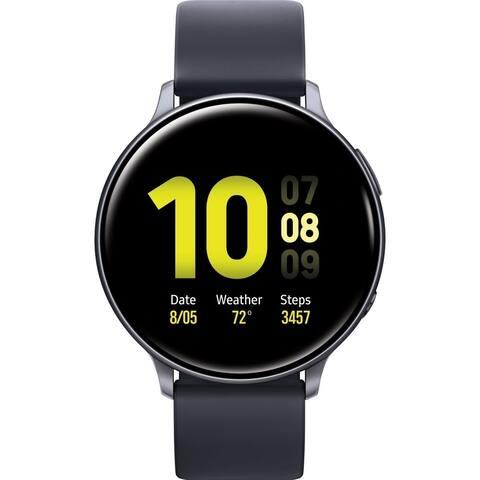 Samsung Galaxy Watch Active2 Bluetooth Smartwatch 40mm, Aqua Black (Certified Refurbished)