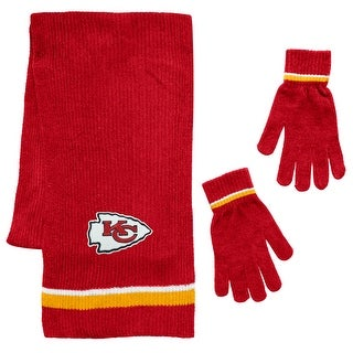 Link to Kansas City Chiefs Scarf and Glove Gift Set Chenille Similar Items in Fan Shop