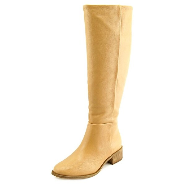 Corso Como Garrison Wide Calf Women Round Toe Leather Knee High Boot