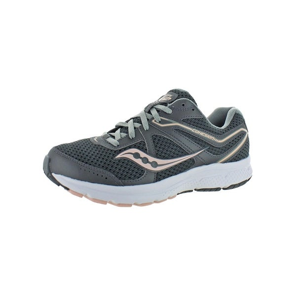 10b3743a Shop Saucony Womens Grid Cohesion 11 Running Shoes Athletic Workout ...