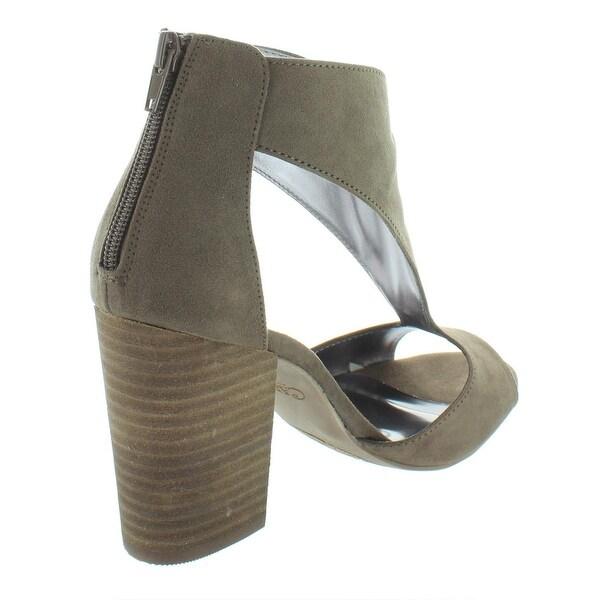 Carlos by Carlos Santana Womens Solera Faux Suede Cut Out Dress Sandals