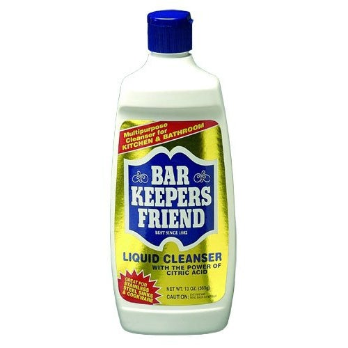 Bar Keepers Friend 11600 Liquid Cleanser, 13 Oz