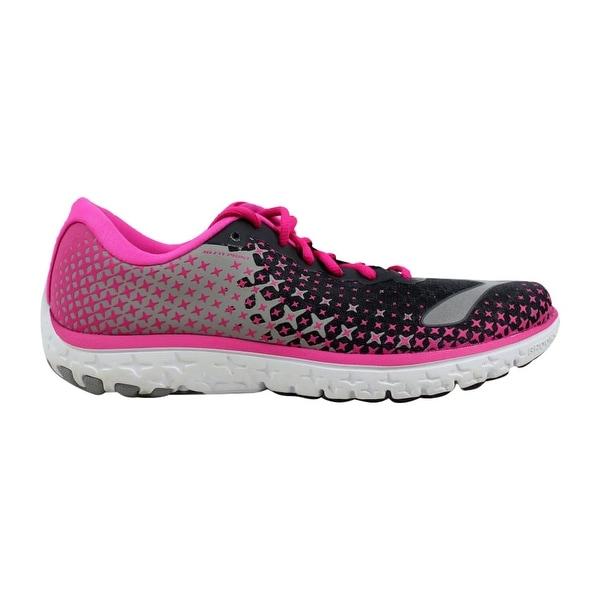 ce7be2c4433cc Shop Brooks Pureflow 5 Anthracite Pink Glow-Alloy 120207 1B 688 ...