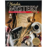 Murder Mystery Party Game-Pasta, Passion & Pistols