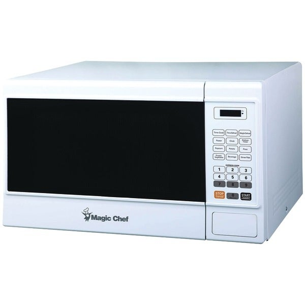 Magic Chef Mcm1310W 1.3-Cubic Ft Countertop Microwave (White)