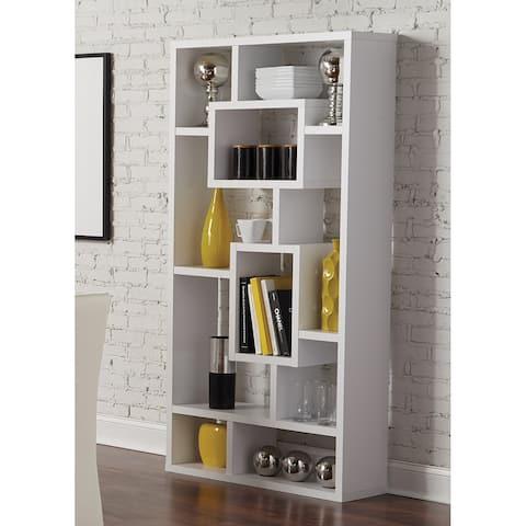 Aurelle 10-shelf Open Back Bookcase