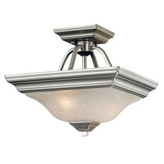 Millennium Lighting 742 2 Light Semi-Flush Ceiling Fixture