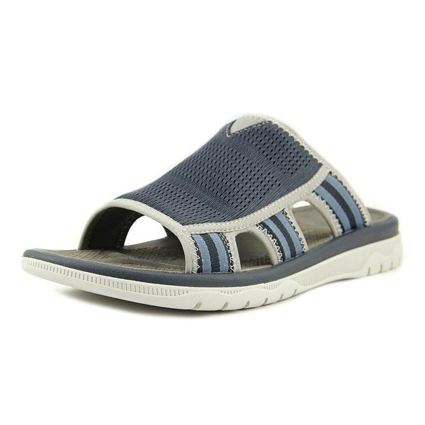 34929180dd77 Clarks Cloudsteppers Balta Ray Men Open Toe Synthetic Blue Slides Sandal