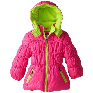 Pink Platinum Girls 4-6X Animal Puffer Jacket (4 options available)