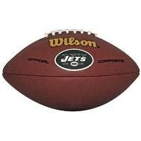 New York Jets Logo Wilson NFL Composite Leather Full Size Football