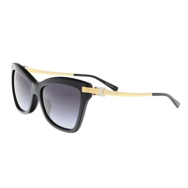 7eb6fbf45b3d Michael Kors MK2027F 317111 AUDRINA III Black Butterfly Sunglasses -  56-16-140
