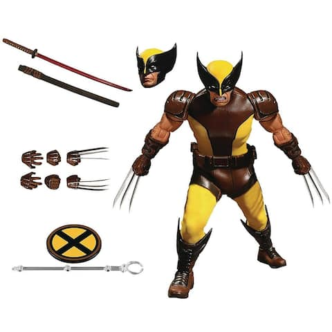 """Marvel One:12 Collective 6"""" Action Figure: Wolverine - Multi"""