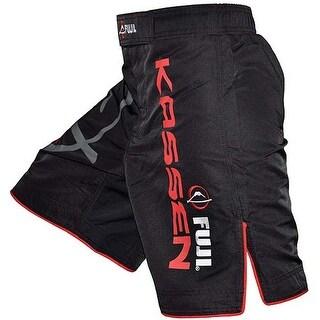 Fuji Kassen MMA Fight Shorts - Black