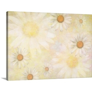 """Flowers"" Canvas Wall Art"