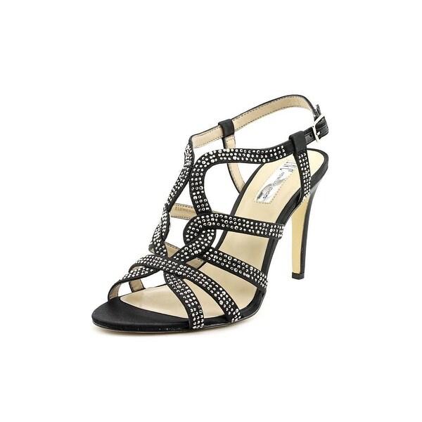 INC International Concepts Randii Women Black Sandals