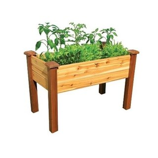 Gronomics EGBD 24-48S Safe Finish Elevated Garden Bed 24 x 48 x 32 in.