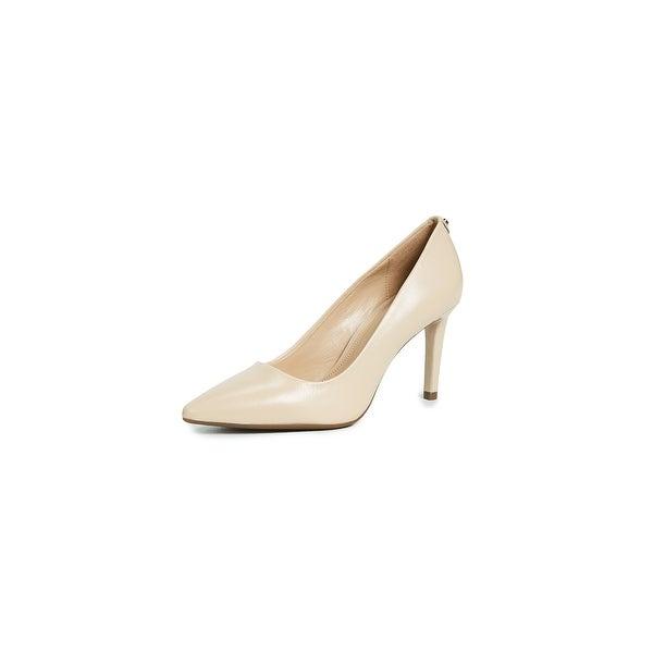MICHAEL Michael Kors Womens Dorothy Flex Pumps Leather Pointed Toe Classic Pu...