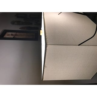 Safavieh Lighting 28-inch Joyce Faux Alligator Grey Table Lamp (Set of 2)