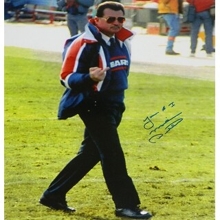 Mike Ditka Bears Famous Bird Flip 16x20 Photo wYour 1