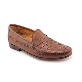 Florsheim Bridgeport Men B Moc Toe Leather Tan Loafer