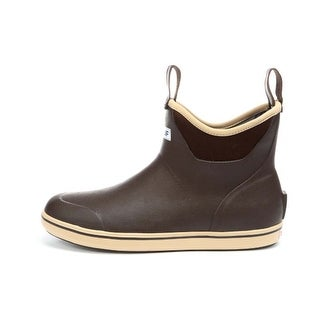Xtratuf Men's Chocolate/Tan Size 8 Slip-on Ankle Deck Boot